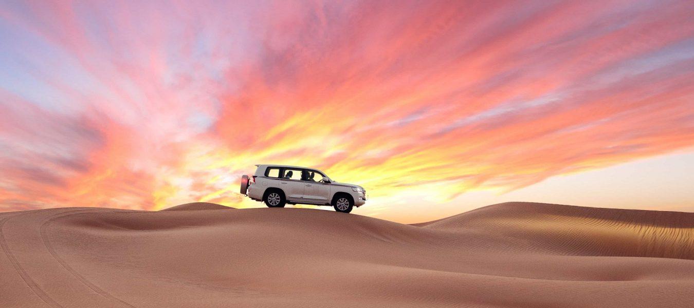red dunes safari