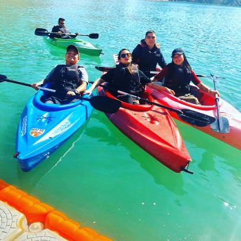 Hatta tour with kayak