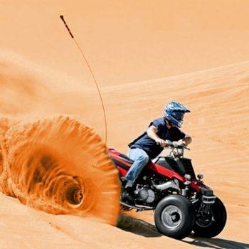 desert quad biking