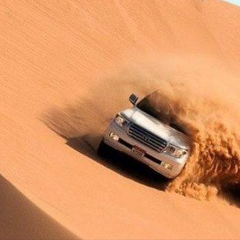 red dunes desert sand in dubai