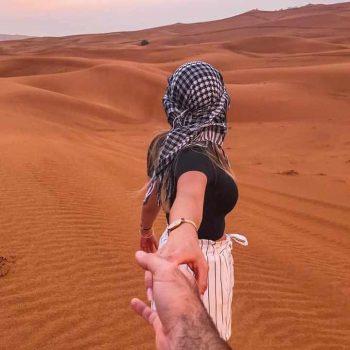 desert couple