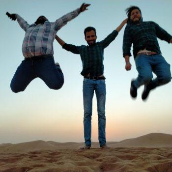 desert jump