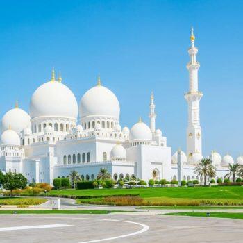 grand mosque white