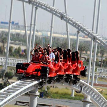 roller coaster abu dhabi