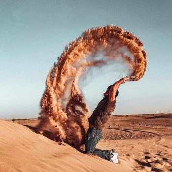 desert photo point red dunes dubai